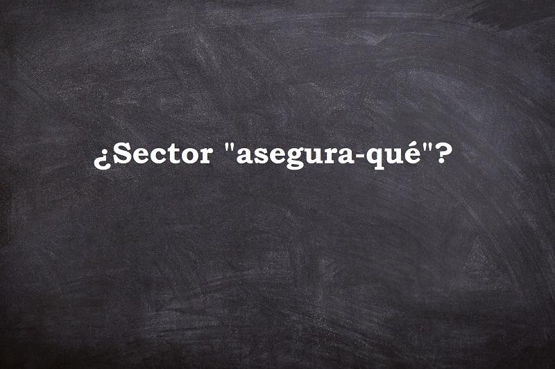 comunicación del sector asegurador
