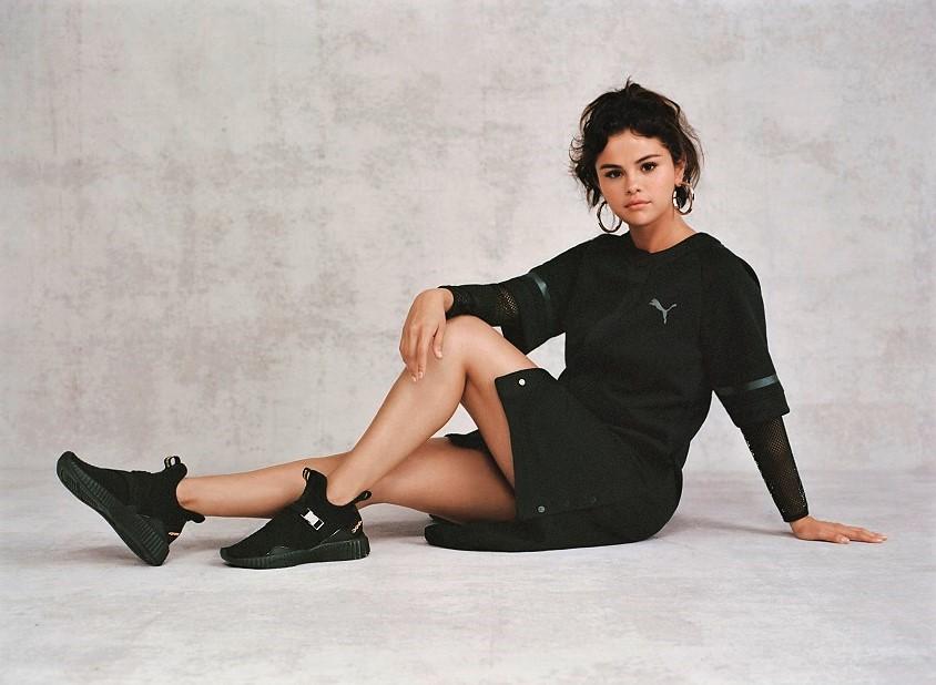 Selena Gómez y Puma